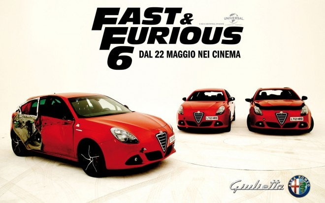 Alfa Romeo Giulietta In Fast And Furious 6 Promo1 660x413