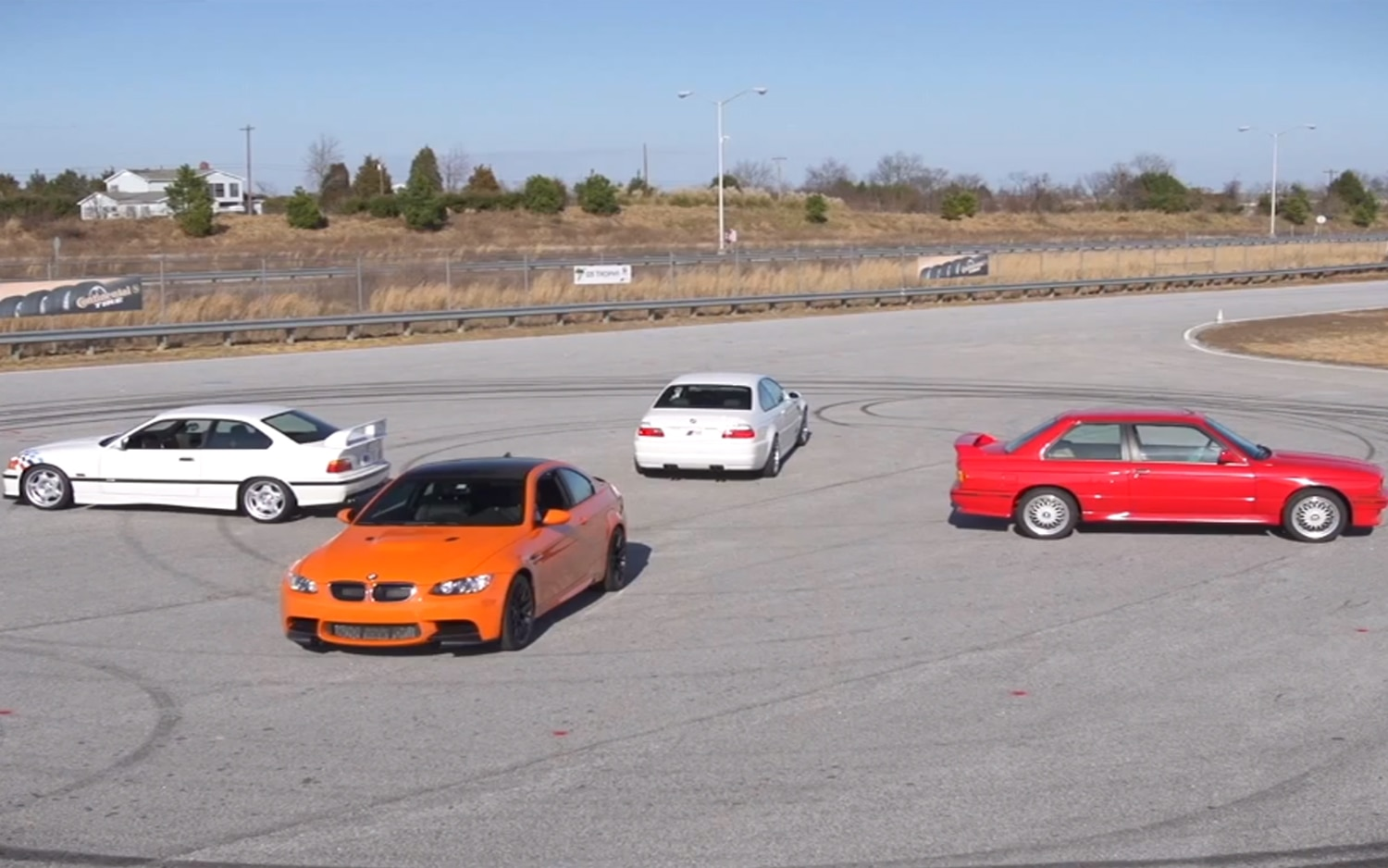 All The BMW M3s1
