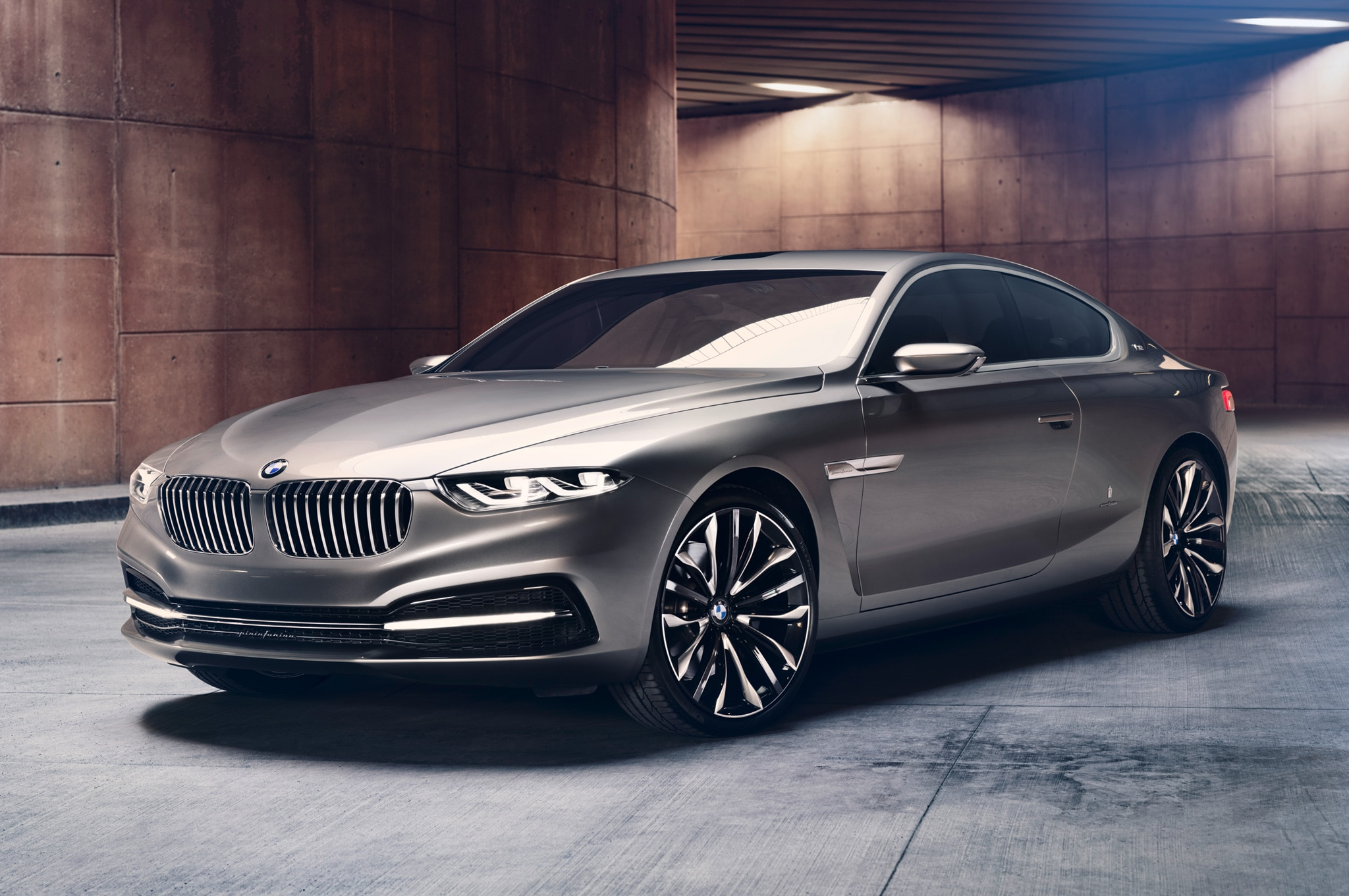 BMW Pininfarina Gran Lusso Coupe Concept First Look - Automobile ...