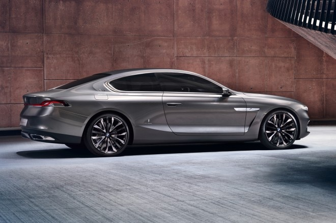 BMW Pininfarina Gran Lusso Coupe Concept Side View 21 660x438