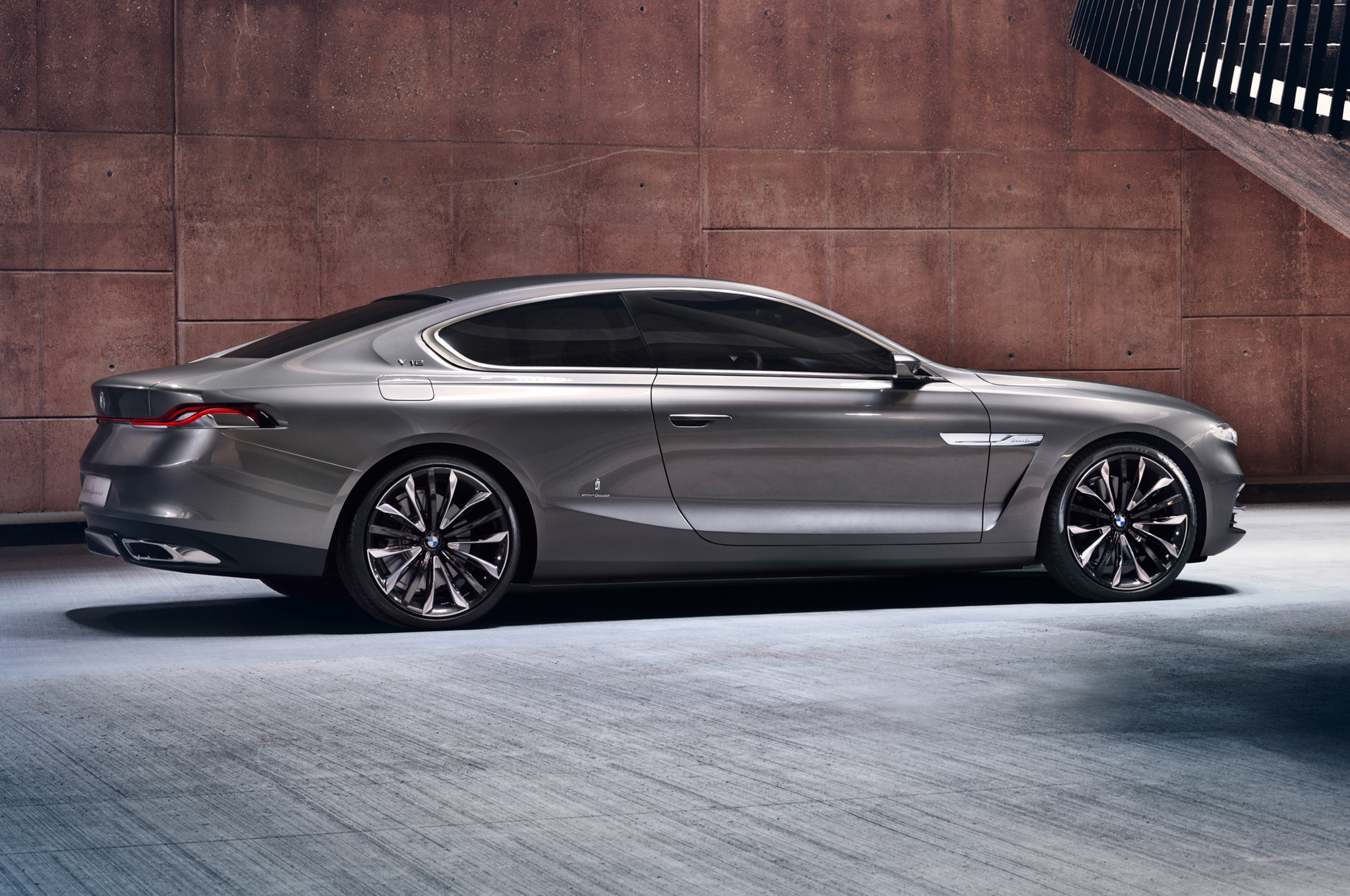 BMW Pininfarina Gran Lusso Coupe Concept Side View 21