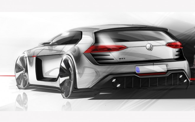 Design Vision Volkswagen GTI Rear Three Quarter1 660x413