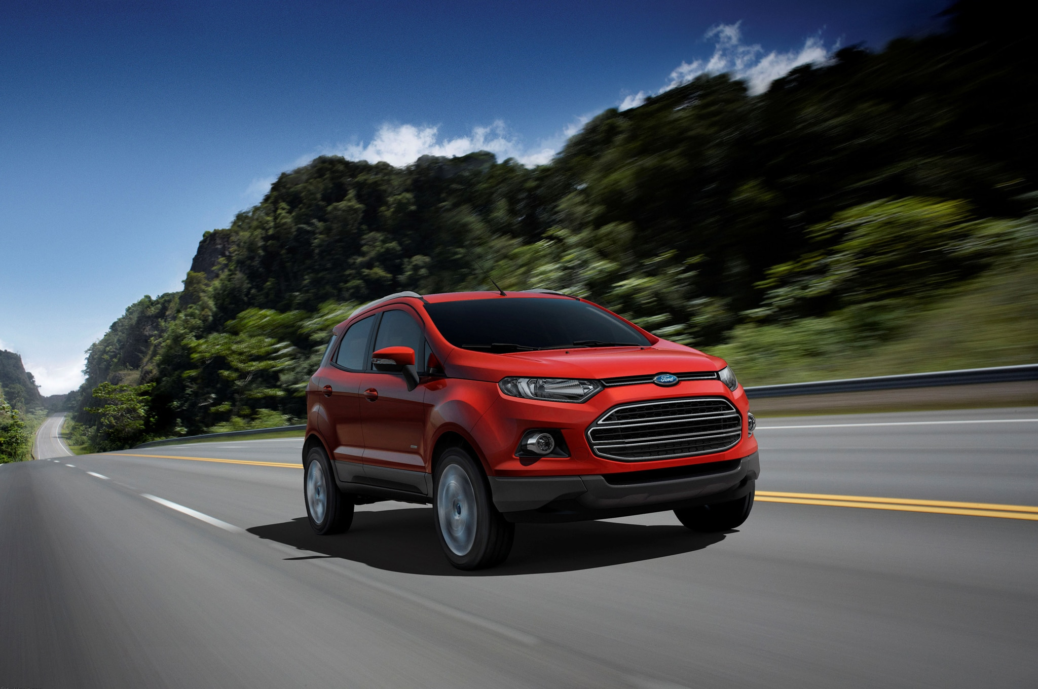 Ford EcoSport Right Front 11