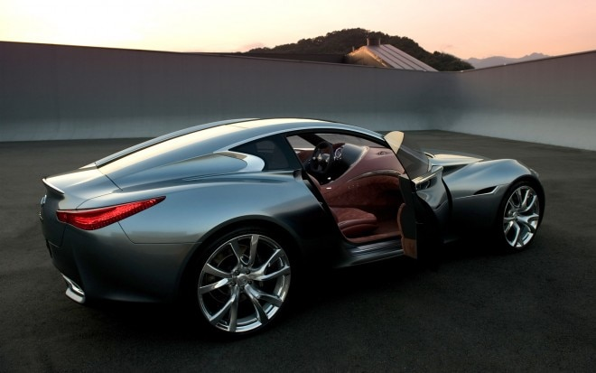 Infiniti Essence Concept Rear Three Quarter1 660x413