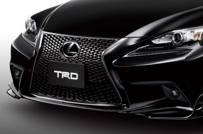 Japanese Spec 2014 Lexus IS F Sport TRD Front Bumper1 660x438