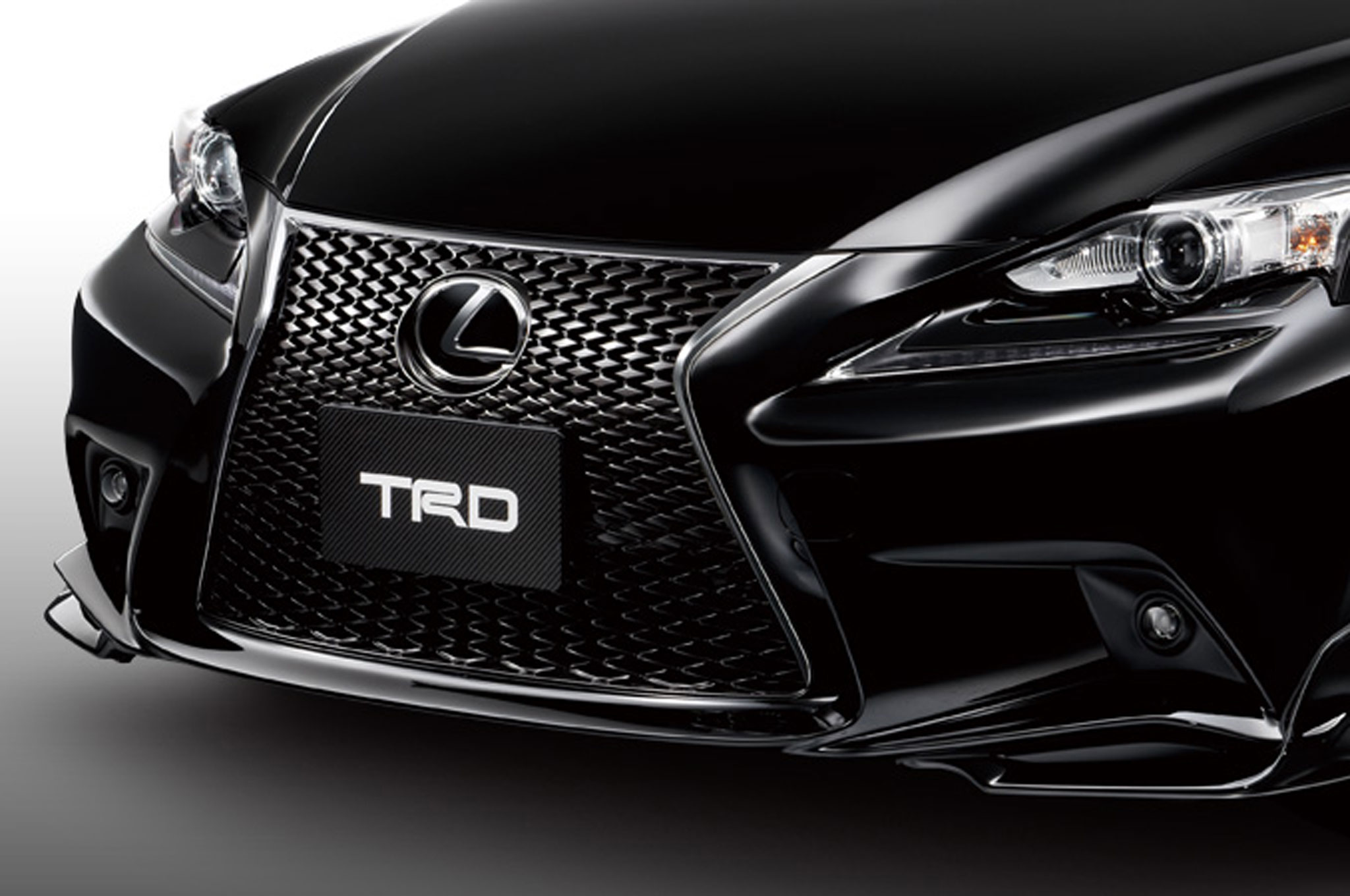 Japanese Spec 2014 Lexus IS F Sport TRD Front Bumper1