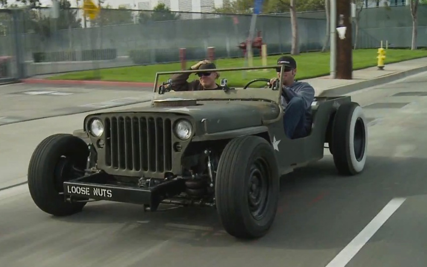 Jeep MB Rat Rod With Hot Rod Guys Front View 21