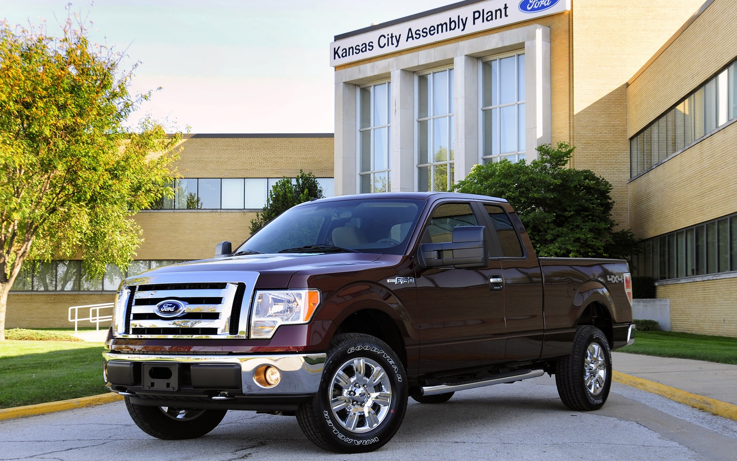 Kansas City Assembly Plant With 2009 Ford F 1501