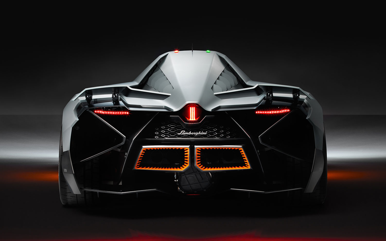 Lamborghini Egoista Rear View1
