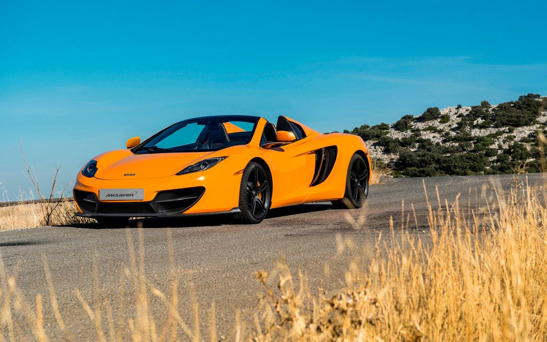 McLaren 50 12C Spider Front Three Quarter1