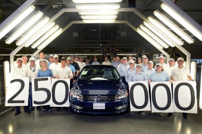 Volkswagen Chattanooga Builds 250K Passat1 660x438