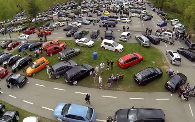 Volkswagens All Parked At Worthersee1 660x413
