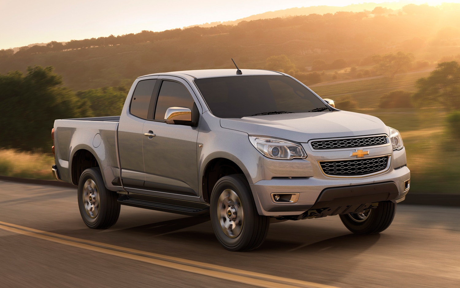 2012 Chevrolet Colorado Front Three Quarter11