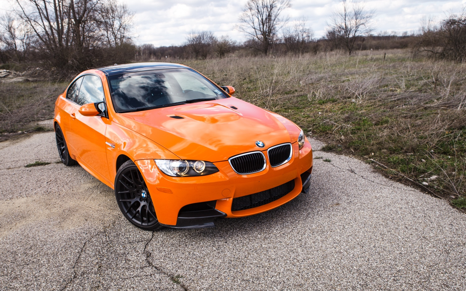 2013 BMW M3 Lime Rock Edition Front Right View 21
