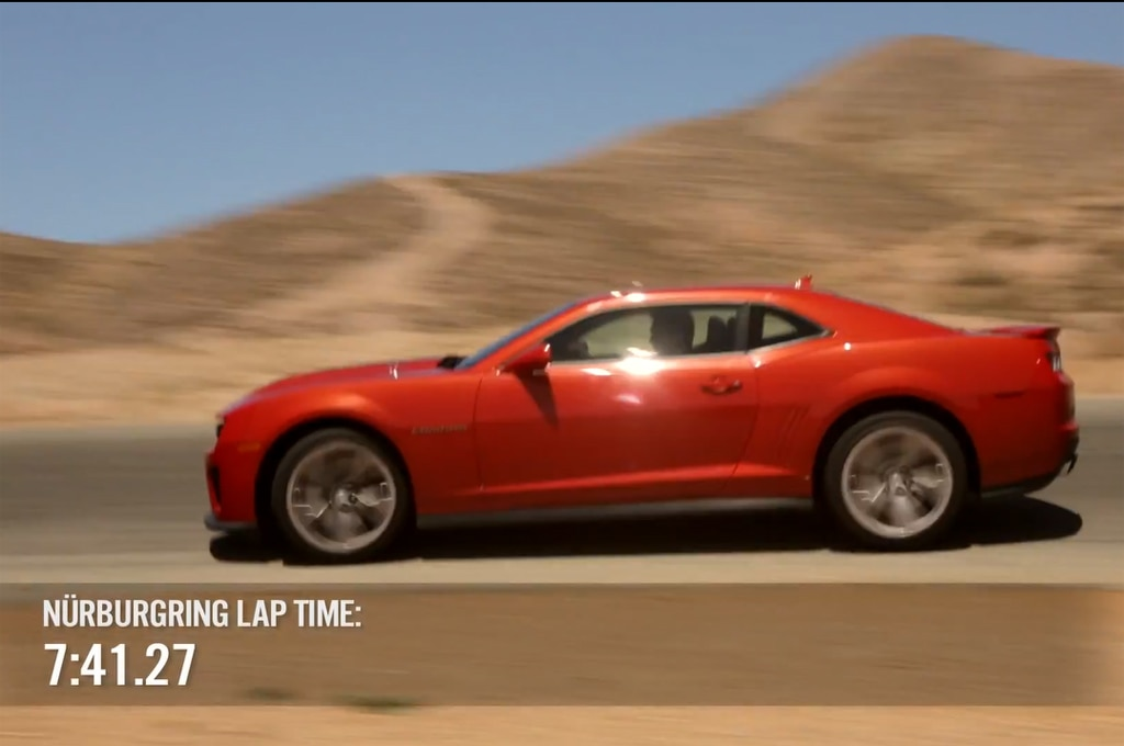 2013 Chevrolet Camaro ZL1 On Worlds Fastest Car Show Image 81