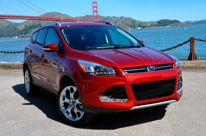 2013 Ford Escape Front Three Quarters View1 660x438