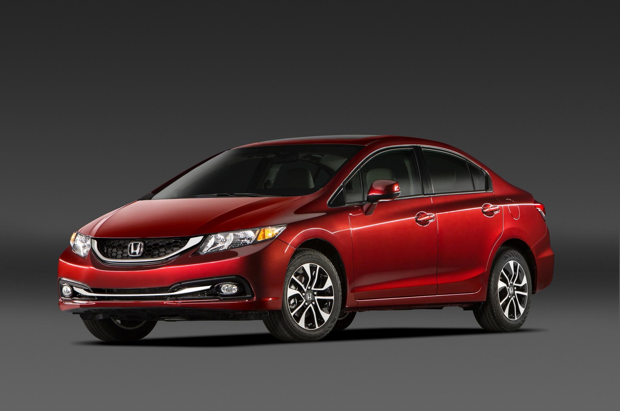 2013 Honda Civic Sedan Front Three Quarter1