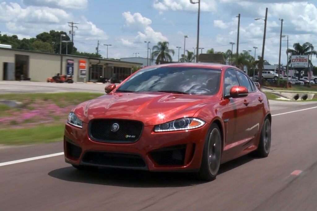 2013 Jaguar XFR S Left Front Driving1