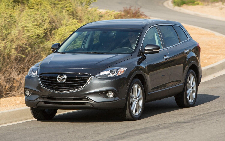 2013 Mazda CX 9 Front Three Quarter Motion1