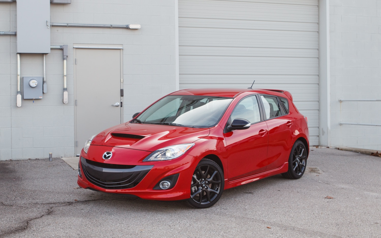 2013 Mazdaspeed 3 Front Left View 11