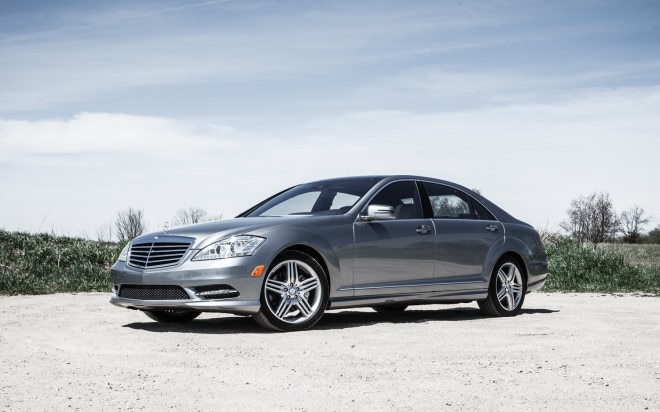 2013 Mercedes Benz S350 BlueTec Front Left Side View 11 660x412