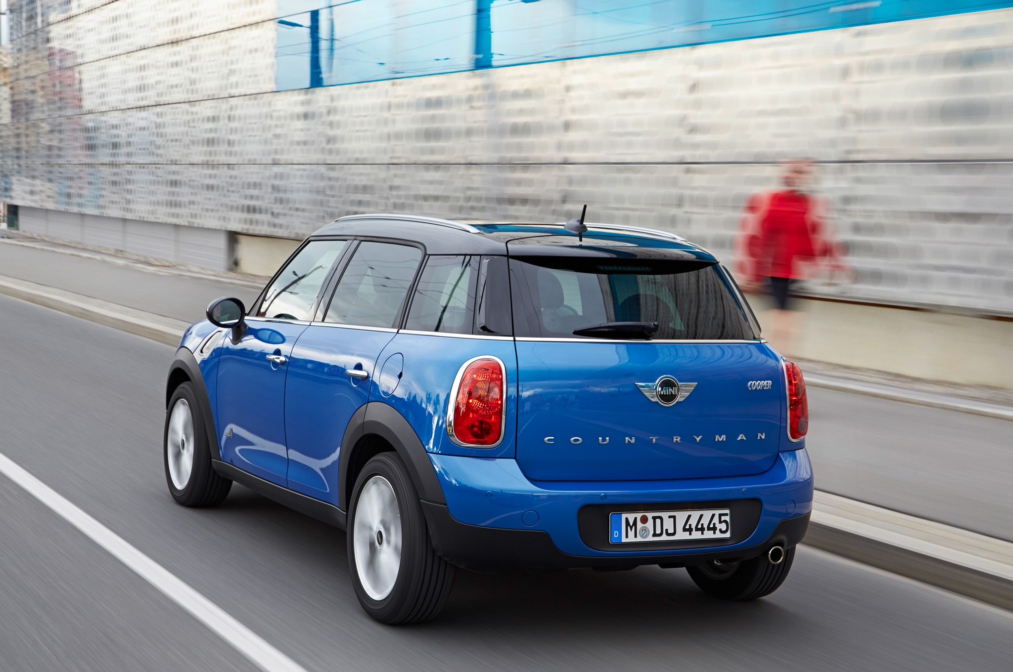 mini adds all wheel drive to cooper countryman paceman. Black Bedroom Furniture Sets. Home Design Ideas