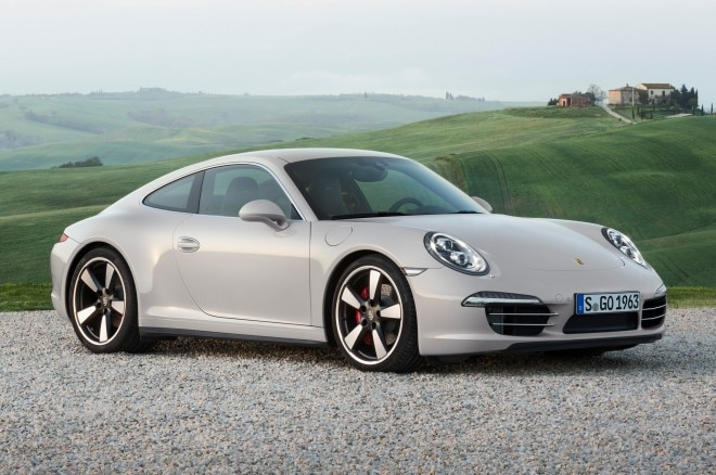2013 Porsche 911 50th Anniversary Edition Front View1 660x438