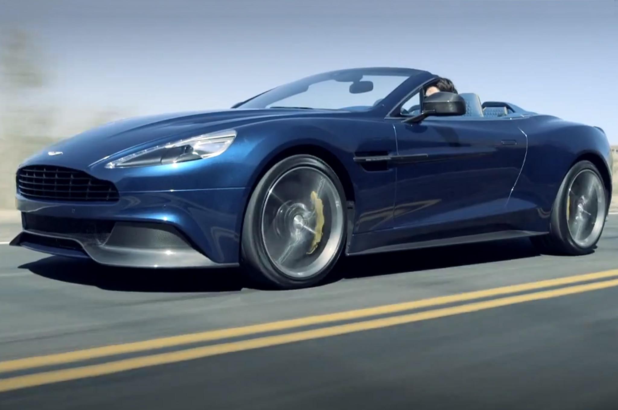 2014 Aston Martin Vanquish Volante Front Three Quarter13