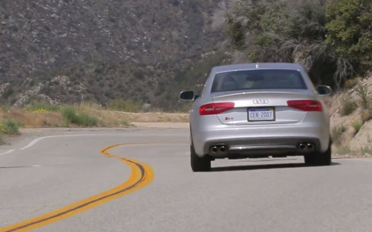 2014 Audi S4 Rear Video Still