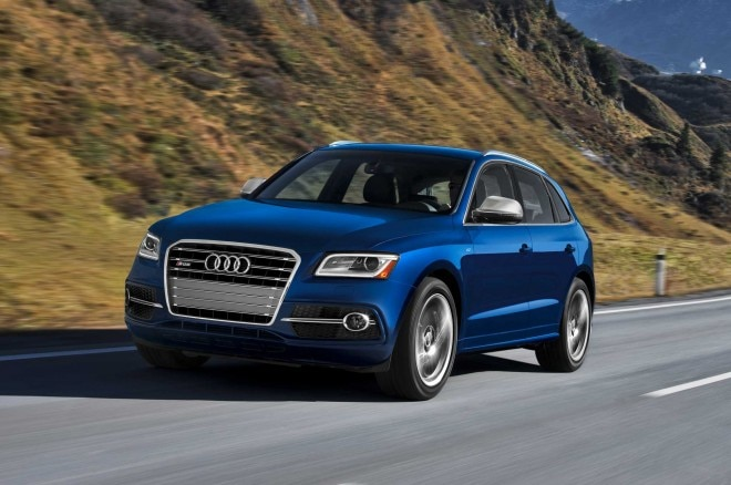 2014 Audi SQ5 Front Three Quarter Motion1 660x438