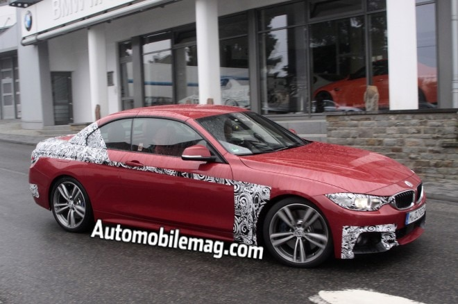 2014 BMW 435i Convertible Front Three Quarter Spied 21 660x438