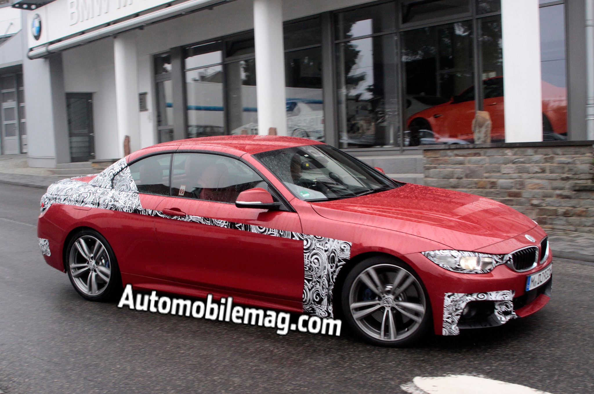 2014 BMW 435i Convertible Front Three Quarter Spied 21
