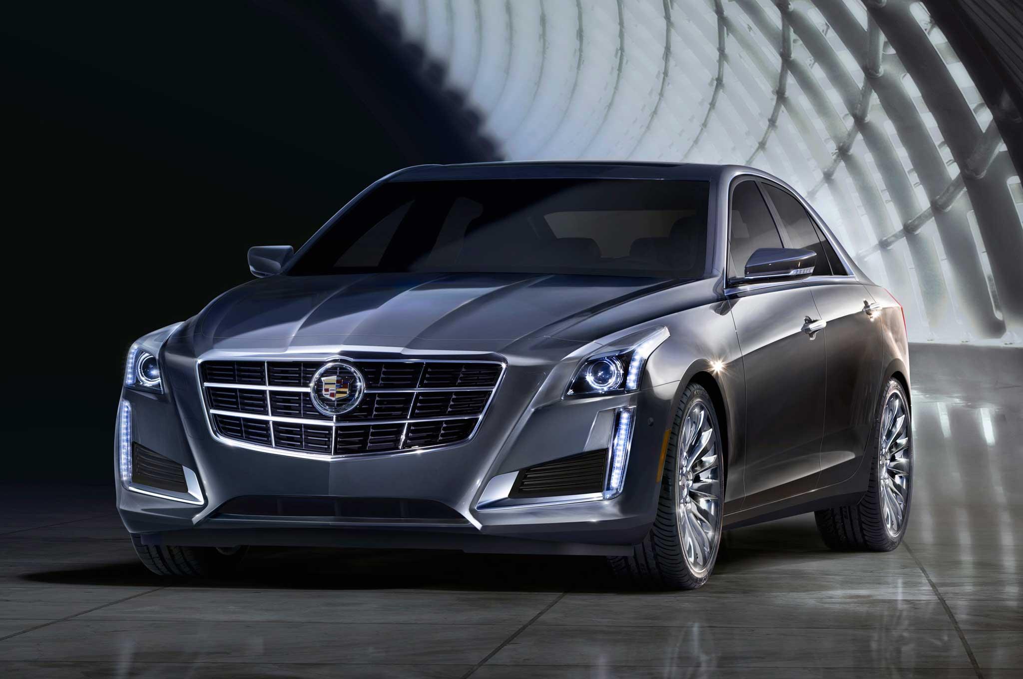 2014 Cadillac CTS Front Three Quarter1