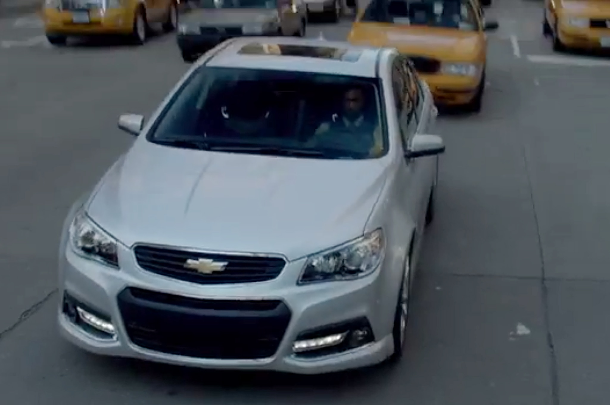 2014 Chevrolet SS Front Three Quarter11