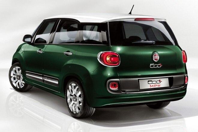 2014 Fiat 500L Living Rear Three Quarter1 660x438