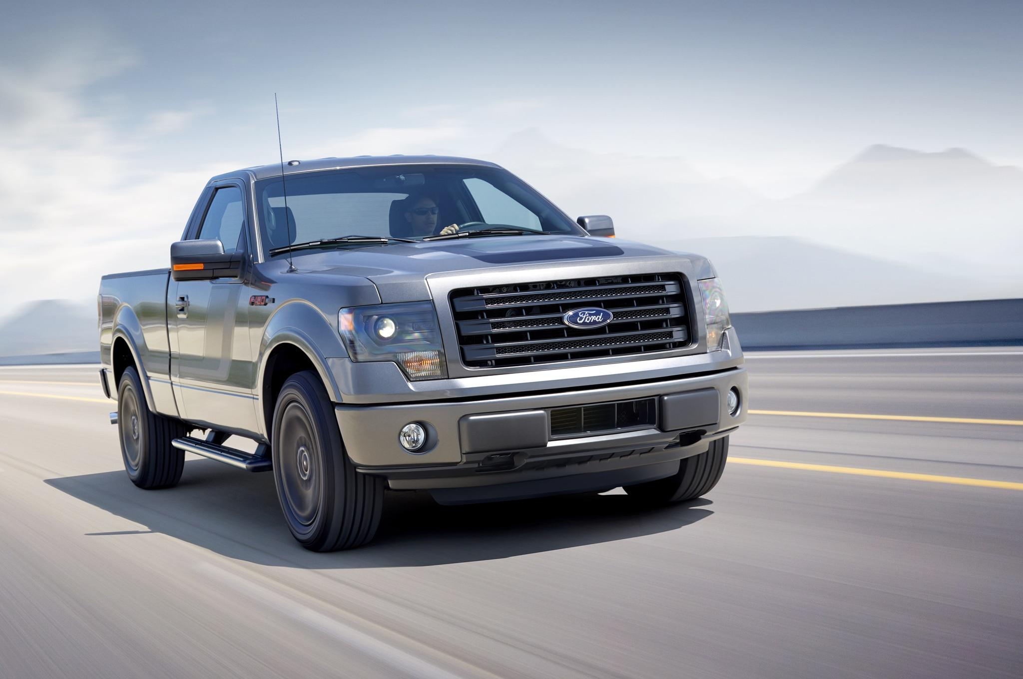 2014 Ford F 150 Tremor Front Three Quarter 11