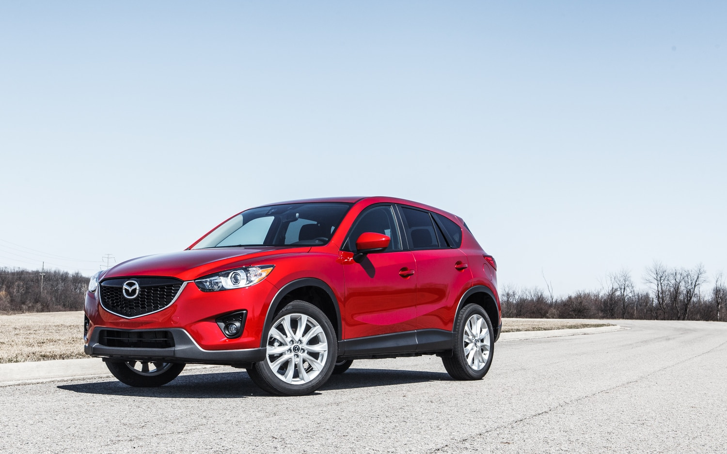 2014 Mazda CX 5 AWD Front Left Side View 11