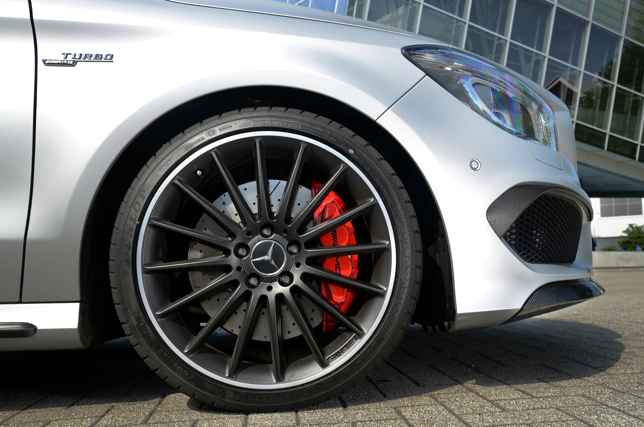 2014 mercedes benz cla45 amg first drive automobile magazine for Amg wheels for mercedes benz