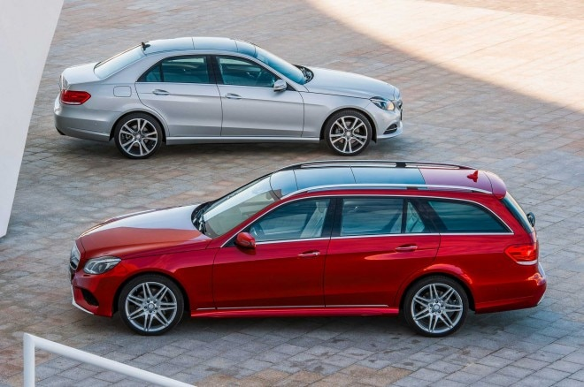 2014 Mercedes Benz E Class Sedan And Wagon1 660x438