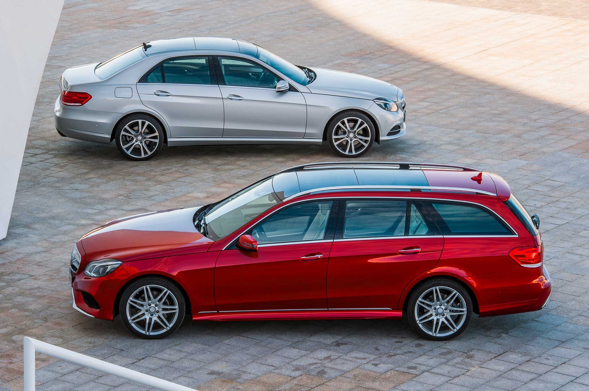 2014 Mercedes Benz E Class Sedan And Wagon1