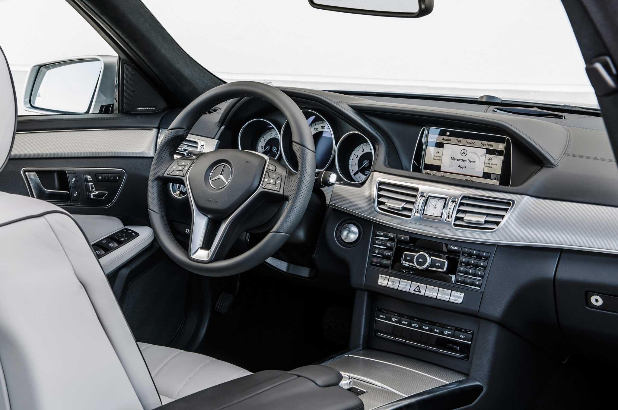 2014 mercedes e class interior images for Mercedes benz e350 interior