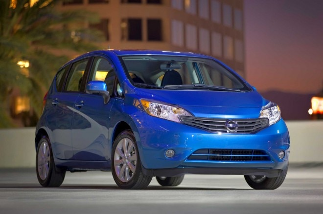 2014 Nissan Versa Note Front Three Quarter1 660x438