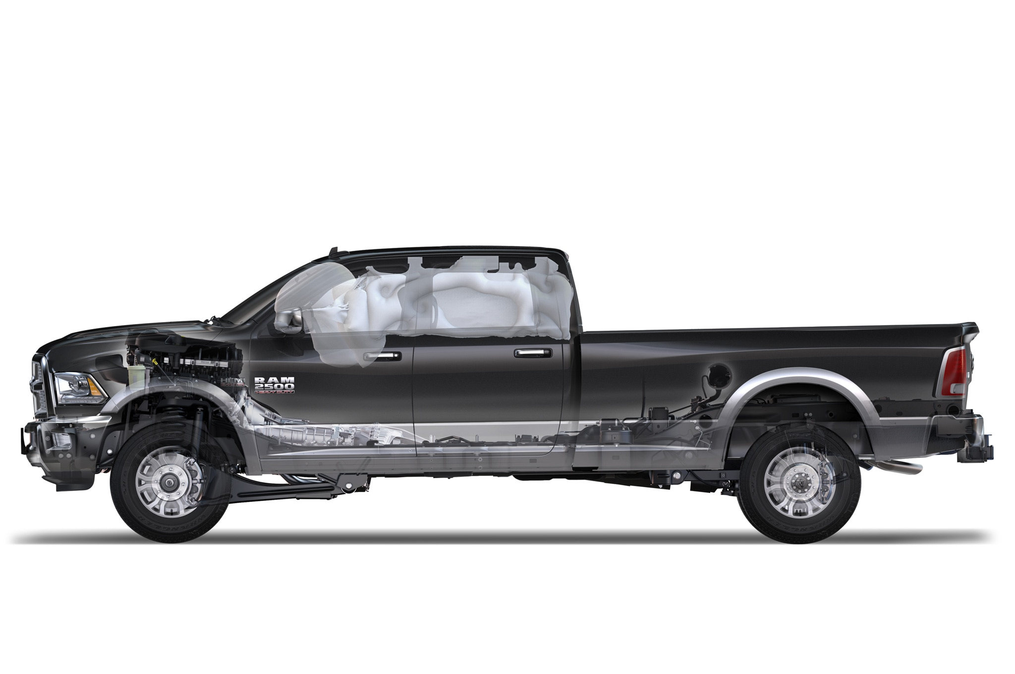 2014 ram heavy duty gets gassy 2500 gets rear coils. Black Bedroom Furniture Sets. Home Design Ideas