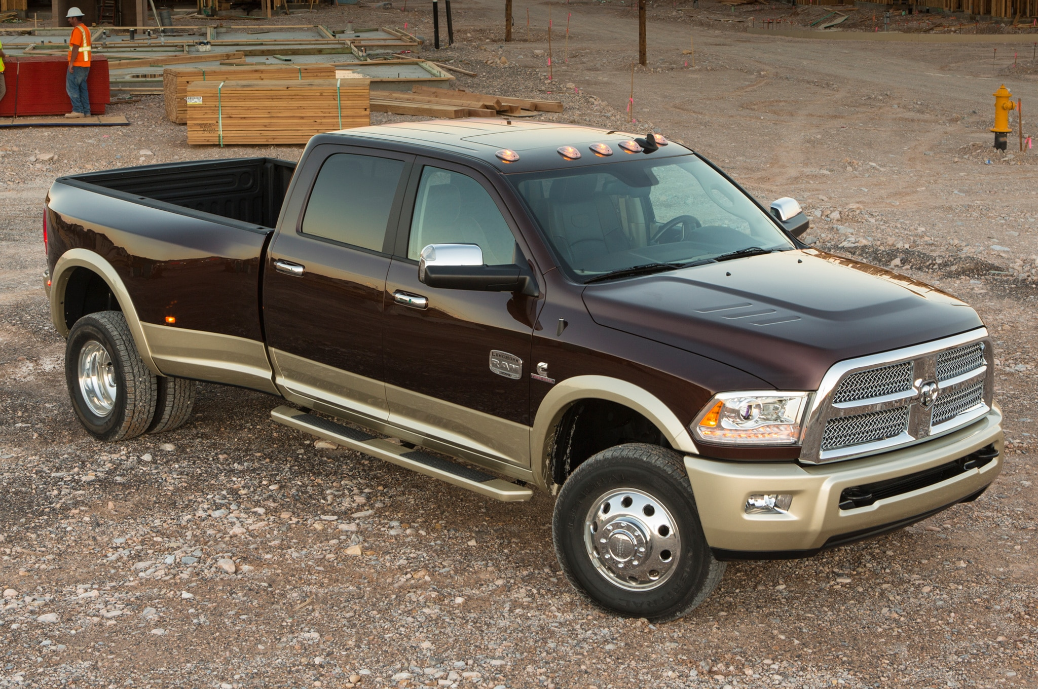 2014 Ram 3500 Front Three Quarters View1