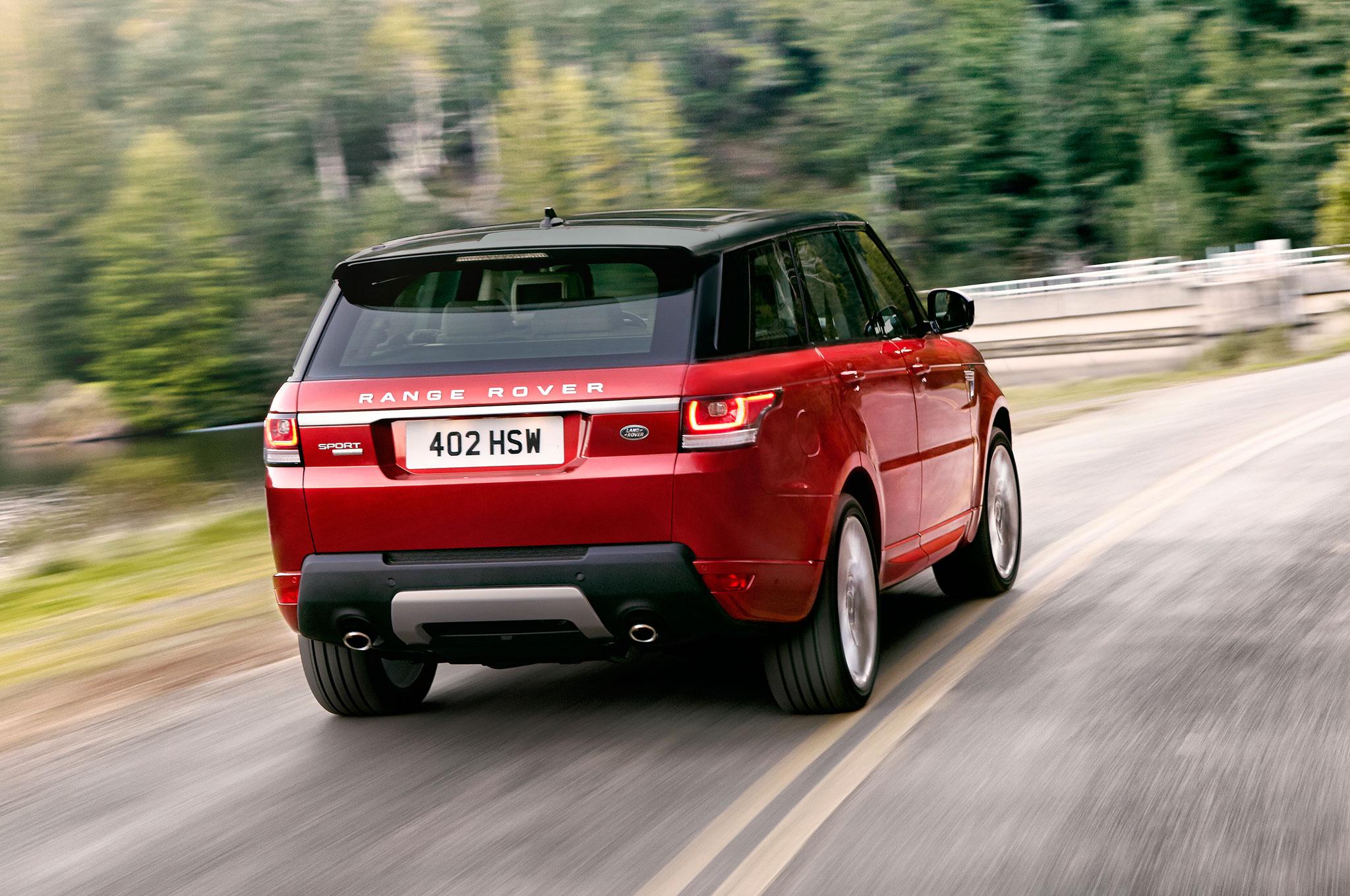 2014 Range Rover Sport Right Rear Driving1