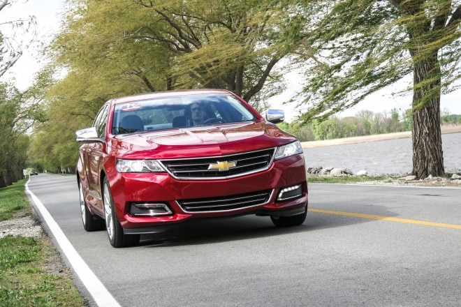 2014 Chevrolet Impala Front1 660x440