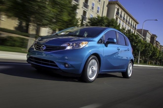2014 Nissan Versa Note Front Three Quarter 21 660x438