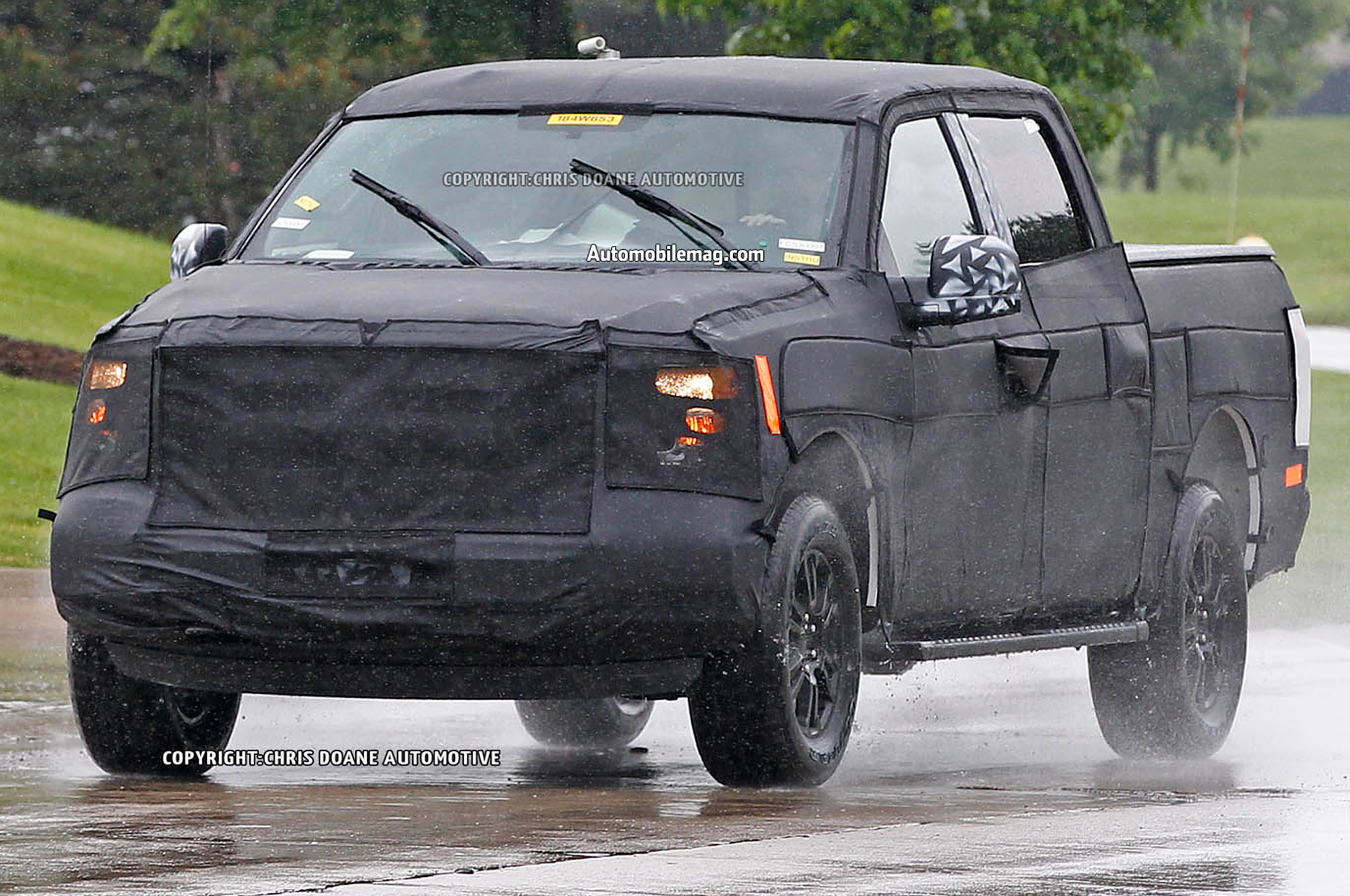 2015 Ford F150 Prototype Front Left Side 021