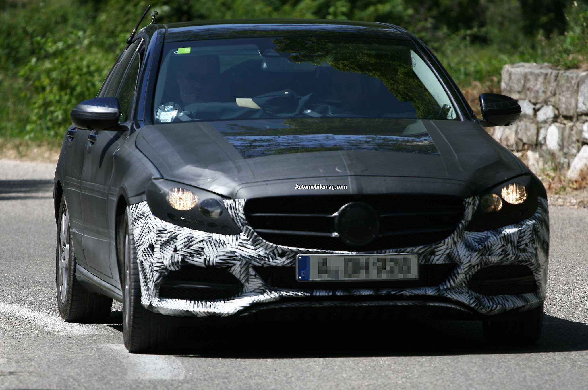 2015 Mercedes Benz C Class Spied Front Three Quarter 11