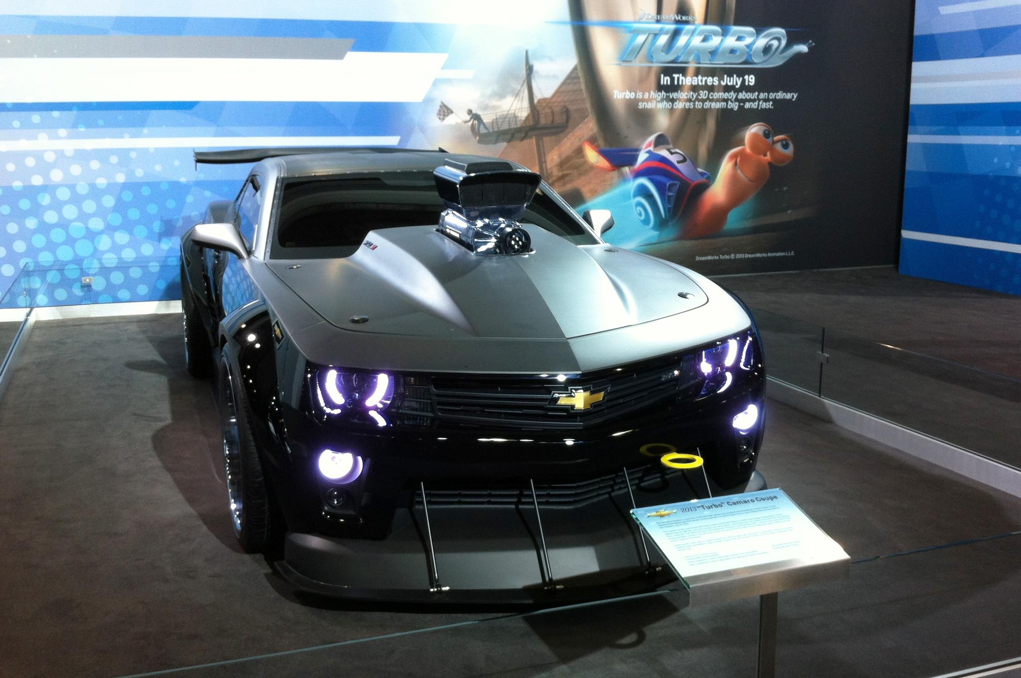 Chevrolet Camaro Turbo Movie Car Front View1